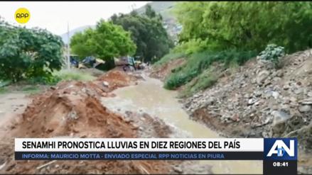 Alcaldesa de Morropón advierte sobre activación de nuevas quebradas tras lluvias