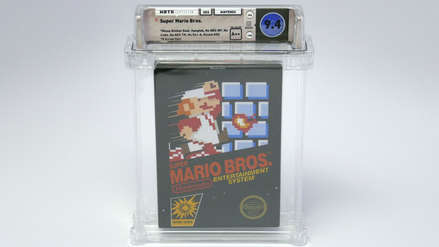 Un raro cartucho de Super Mario Bros. de 1985 se subasta en más de 100 mil dólares