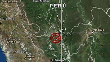 San Martín | Un sismo de magnitud 4.0 sacudió Uchiza esta tarde