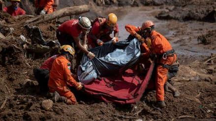 Aumenta a 169 el número de fallecidos tras colapso de represa minera en Brasil