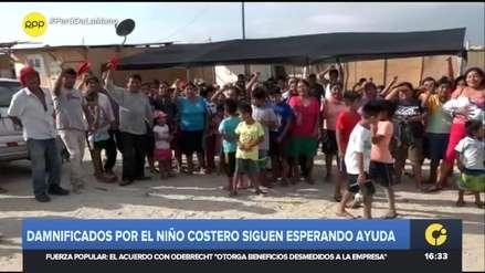 """""""Presidente, cumpla su promesa"""": Así viven los damnificados del Niño Costero del 2017 en Piura"""