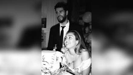 Las fotos nunca antes vistas de la boda de Miley Cyrus y Liam Hemsworth