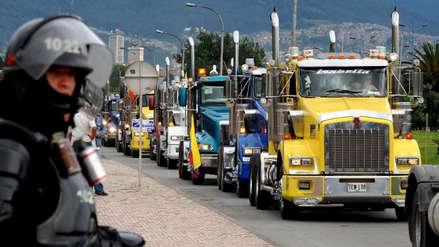 Paro nacional: Más de 40,000 transportistas de carga pesada acatan medida de fuerza