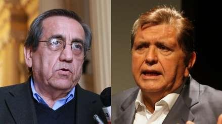 Jorge del Castillo defiende a Alan García y dice que a ningún otro político