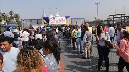 Empleo: Hoy feria laboral ofrecerá 1,500 puestos de trabajo en Lima