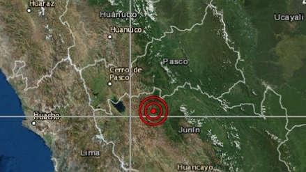 Junín | Un sismo de magnitud 4.4 sacudió La Merced esta madrugada