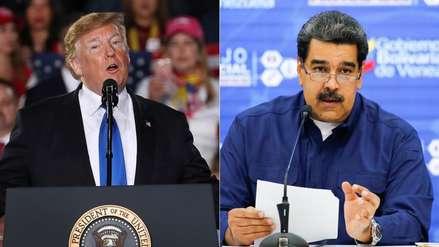 "Nicolás Maduro acusó a Donald Trump de usar ""casi un discurso al estilo nazi"" sobre Venezuela"