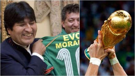 Evo Morales: Bolivia busca apoyo para ser una de las sedes del Mundial 2030
