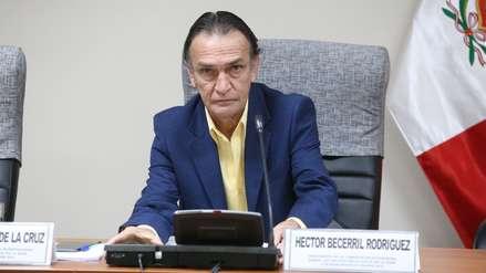 Congresista del Frente Amplio presentó denuncia constitucional contra Héctor Becerril