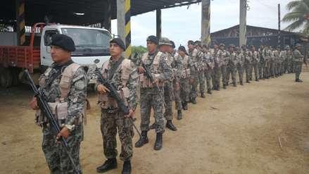 Madre de Dios | Policía y Fuerzas Armadas se unen en operativo contra la minería ilegal en La Pampa