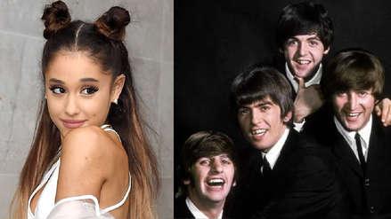 Ariana Grande igualó récord que The Beatles mantuvo por más de 50 años