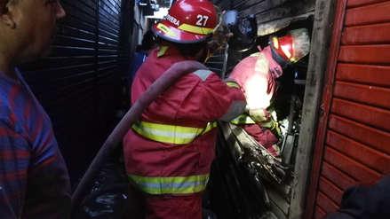 Incendio causa daños materiales en el mercado Modelo de Chiclayo
