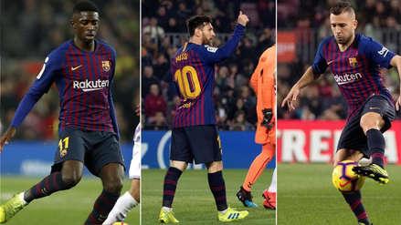 Barcelona vs.  Lyon: el once azulgrana para el partido de la Champions League