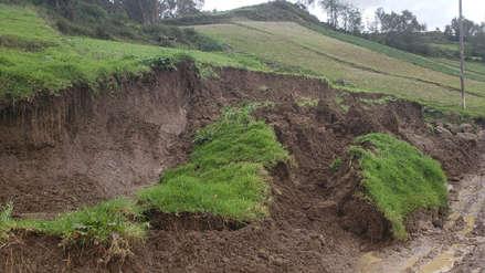 Deslizamientos y granizadas dejan sin vivienda a 30 familias en Otuzco