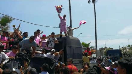 Con salsa y barras del Sport Boys: miles de hinchas rosados despidieron a 'Kukín' Flores en el Callao
