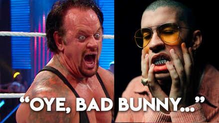 El Undertaker regresa entre los muertos para exigir un concierto a Bad Bunny
