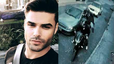 Erick Sabater fue asaltado pordos motorizados en un supermercado de Barranco