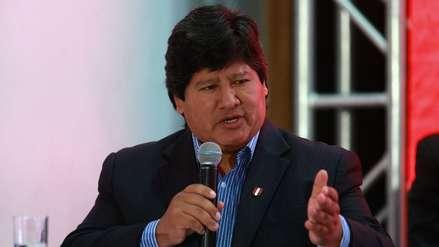 Fiscalía desestima apelar fallo que rechazó prisión preventiva para Edwin Oviedo por caso 'Cuellos Blancos'