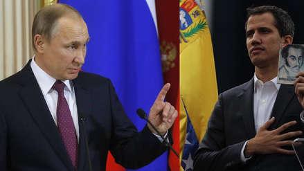 Rusia pidió a Juan Guaidó que abra negociaciones con Maduro en Venezuela
