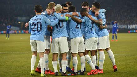 Manchester City ganó 3-2  a Schalke en partido de ida por los octavos de final de la Champions  | VIDEO