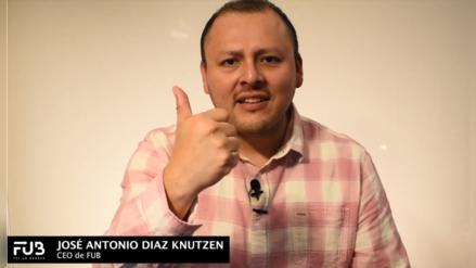 """Jose Antonio Diaz: """"somos nueve empresas en el mundo que decidimos reciclar banners, pero FUB, es la única que tiene un impacto social"""""""
