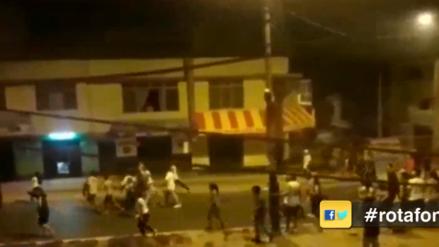 Dos hombres murieron en un enfrentamiento entre bandas en San Juan de Miraflores
