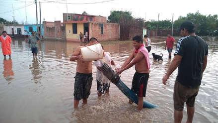 Lambayeque | Estos fueron los estragos que dejó una lluvia de casi tres horas en Zaña [FOTOS]
