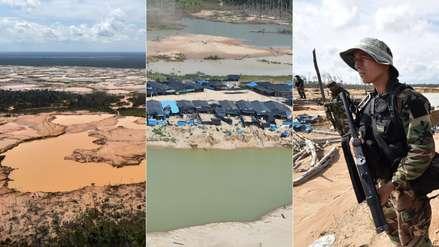 Así fue el operativo contra la minería ilegal en Madre de Dios que movilizó a militares y policías