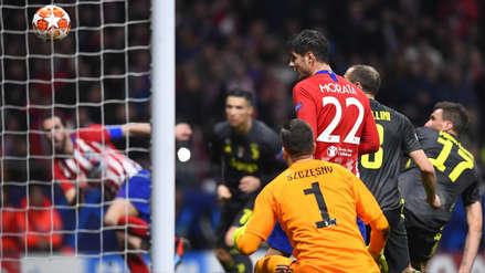 Juventus vs. Atlético de Madrid: los 'colchoneros' ganaron 2-0 con goles de los uruguayos Godín y Giménez