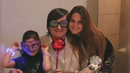 Jaime Bayly cumplió 54 años y publicó una tierna foto familiar