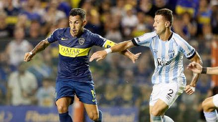 Boca Juniors cayó 2-1 ante Atlético Tucumán por la Superliga Argentina