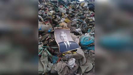 Trujillo | Cuadro de exalcalde desapareció de la municipalidad y aparece en basural