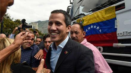 Juan Guaidó sale en caravana a frontera con Colombia para paso de ayuda humanitaria