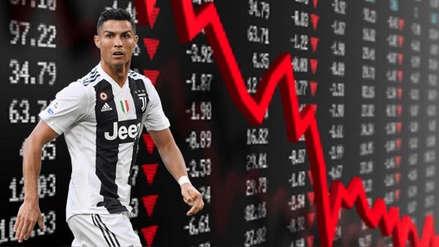 Cristiano Ronaldo: Juventus se desplomó en la Bolsa tras la derrota ante Atlético de Madrid