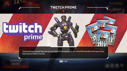 Apex Legends | Fallo permite a todos los usuarios obtener regalos exclusivos de Twitch Prime