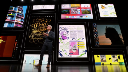 Apple y el misterioso plano de un teléfono con pantalla plegable