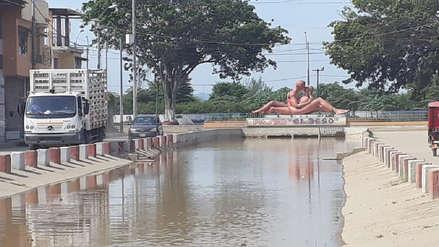 Río Tumbes se desborda por lluvias y sus aguas ingresan a la ciudad [FOTOS y VIDEOS]