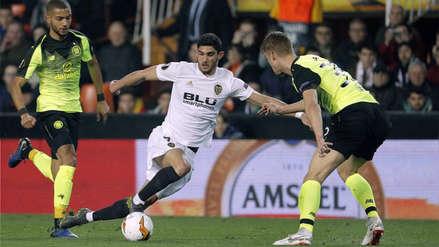 Valencia ganó 1-0 a Celtic Glasgow y clasificó a los octavos de final de la Europa League