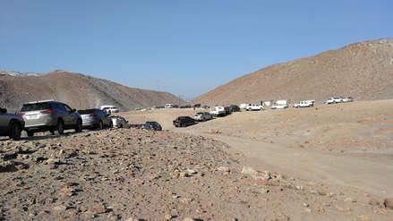 Arequipa | Conductores hacen su 'ruta Dakar' debido al paro de camioneros [Video]