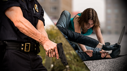 Estos son los casos en que un policía puede usar la fuerza para defenderse