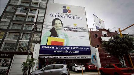 Sunedu deniega licenciamiento de funcionamiento a la Universidad Peruana Simón Bolívar