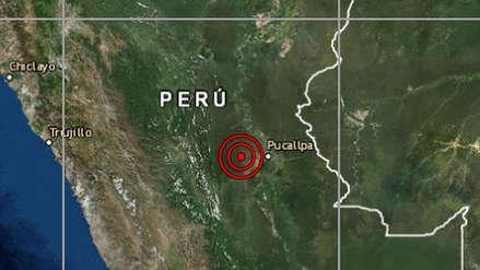 Un sismo de magnitud 4.6 remeció la región Ucayali esta mañana