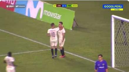 El especialista: Germán Denis anotó el tercer gol de Universitario ante Pirata FC