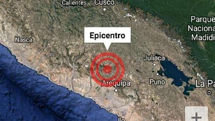 Arequipa | Un sismo de magnitud 3.5 sacudió el Valle del Colca esta mañana