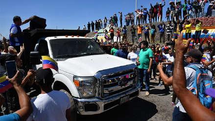 Venezuela | Juan Guaidó anunció el ingreso del primer camión con ayuda humanitaria desde Brasil