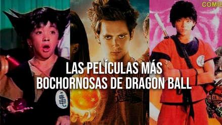 Recordamos las más bochornosas películas de acción real de Dragon Ball Z