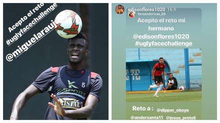 #UglyFaceChallenge | El nuevo desafío de los futbolistas en Instagram