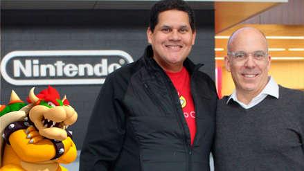 Bowser, el nuevo presidente de Nintendo of America, rinde homenaje al retirado Reggie Fils-Aime