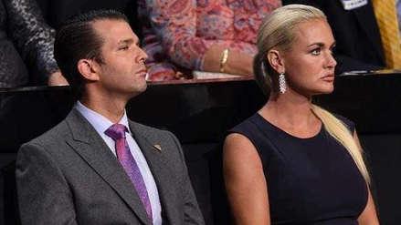 El hijo mayor de Donald Trump y su esposa hacen oficial su divorcio