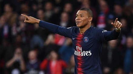 Kylian Mbappé anotó doblete y prolonga la racha del París Saint Germain